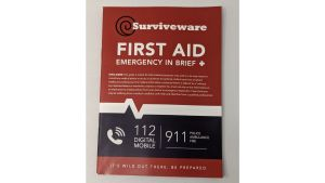 Surviveware First aid guide