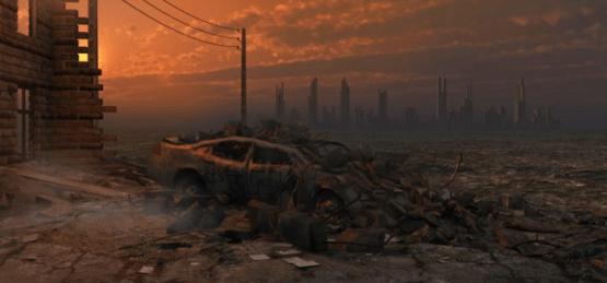 post-apocalyptic world