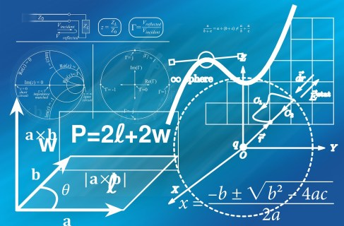 Review geometry and other basic math skills to prepare for the GMAT.
