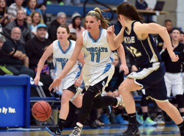 Lindsey Jensen was the most complete basketball player in the state. (Photo by Dave Argyle, dbaphotography.com)