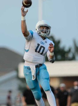 Sky View quarterback Garrison Beach is putting up some huge numbers. (Photo by Dave Argyle, dbaphotography.com)