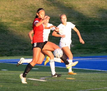Alyssa Ulugalu and the Weber back line will need another stellar performance in the state final. (Photo by Kurt Johnson)