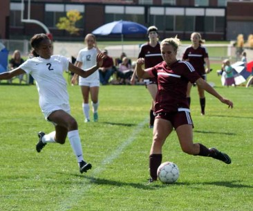 Lone Peak soccer's Lily Franks was diagnosed with diabetes when she was in the sixth grade. (Photo by Kurt Johnson)