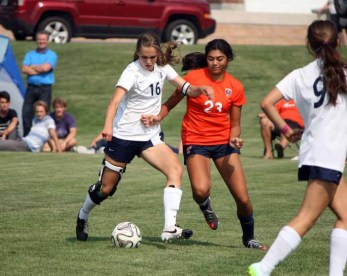Timpview defender Weslee Baird leads a unit that has allowed just 14 goals heading into the postseason. (Photo by Kurt Johnson)