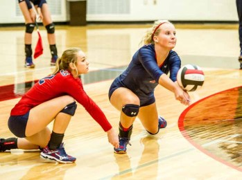 Amanda Schultz will play  college volleyball at Dixie State. (Photo by Mark Spencer)