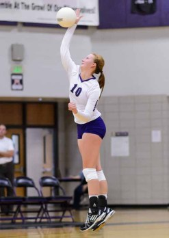 Amber Lamborn provides a calming presence for Lehi. (Photo by Dave Argyle, dbaphotography.com)