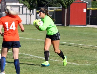 Isabel Jones closed out her career with a strong season in goal for Alta. (Photo by Kurt Johnson)