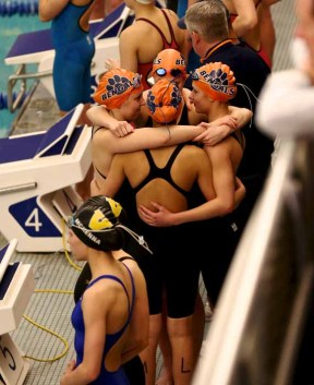 Brighton swimmers are among the state's elite every year. (Photo by Shane Marshall)