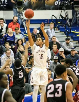 Lone Peak's Frank Jackson scored 21 in the team's win over American Fork. (Photo by Kevin McInnis)