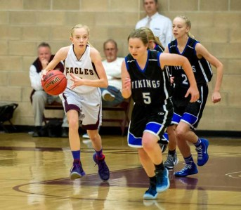 Maddy Eaton is a freshman at Maple Mountain. (Photo by Jeff Porcaro, maplemountainsports.com)