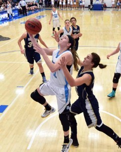 Kaylee Carlsen is Sky View's leading scorer. (Photo by Dave Argyle, dbaphotography.com)