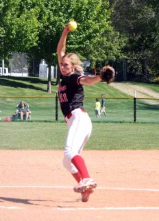 Spanish Fork pitcher Cambrie Hazel is one of the state's best. (Photo by Kurt Johnson)