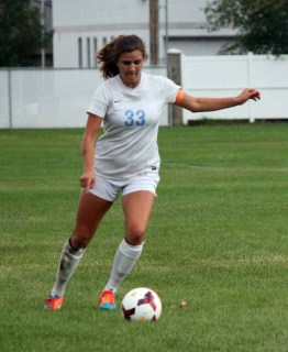 Livia Borges No. 1 sport is soccer, which she will play at the next level. (Photo by Kurt Johnson)