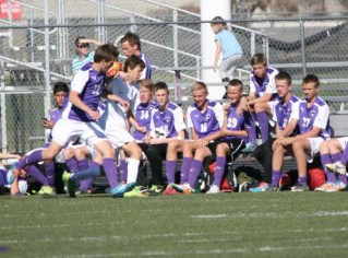 Alan King has been an assistant coach with Riverton soccer for seven years. (Photo by Kurt Johnson)