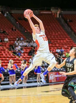 Timpview is looking to Hunter Erickson to lead the way in 2016-17. (Photo by Kevin McInnis)