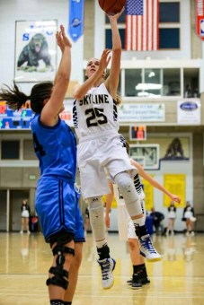 Skyline's Madison Grange is a leader in many ways. (Photo by Kevin McInnis)