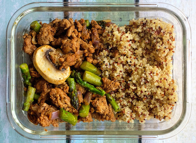 ground turkey couscous