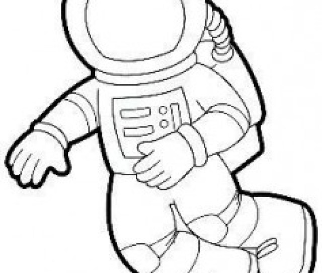Free Printable Astronaut Coloring Page Crafts And Worksheets For