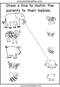 Free Printable Animal Worksheet For Kids