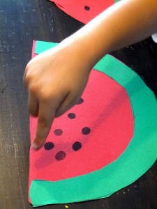 Fruit Craft Idea For Kids