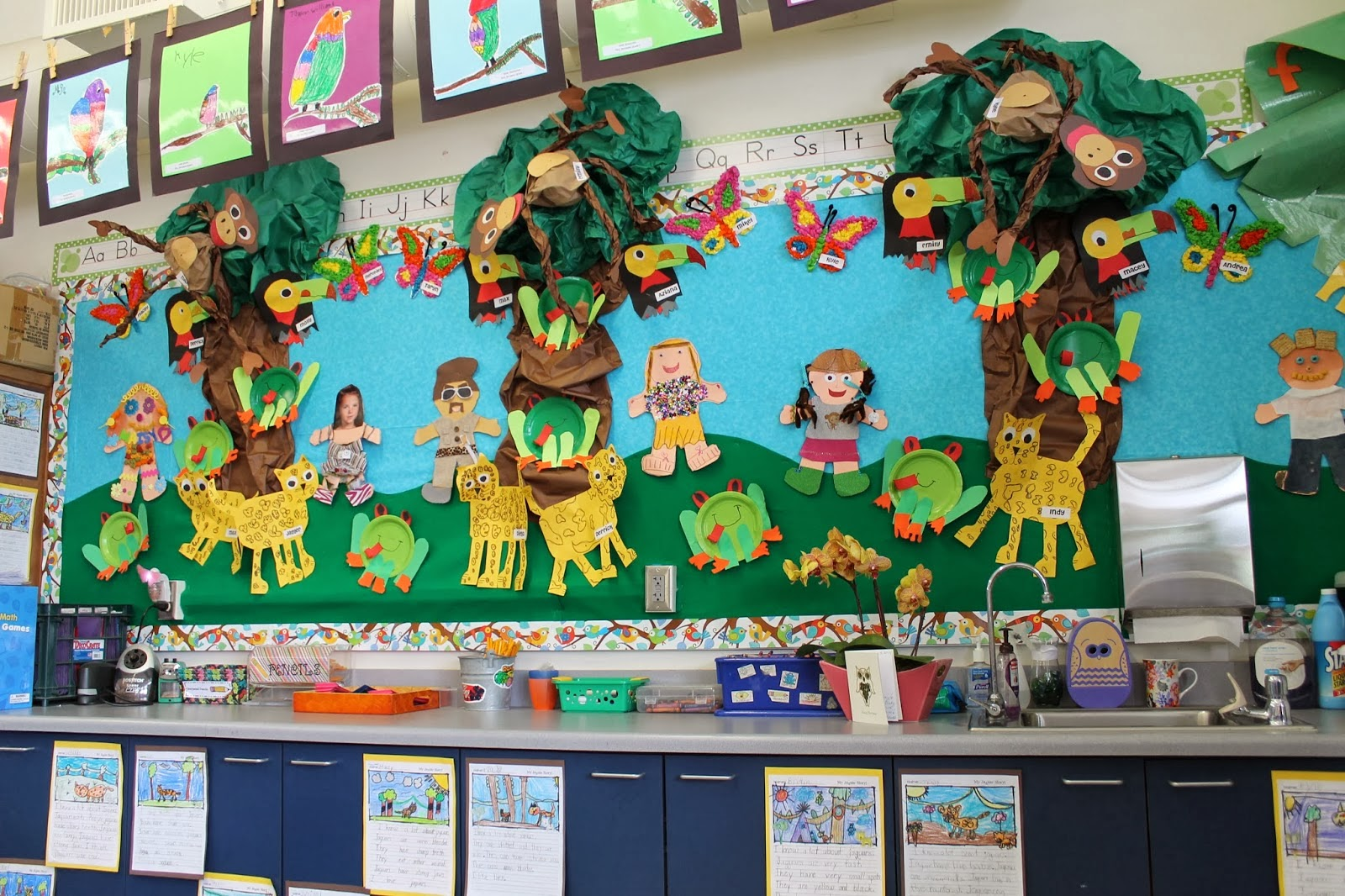 Jungle Worksheet For Preschoolers