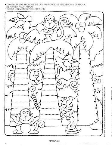 Printable Tree Christmas Tracing