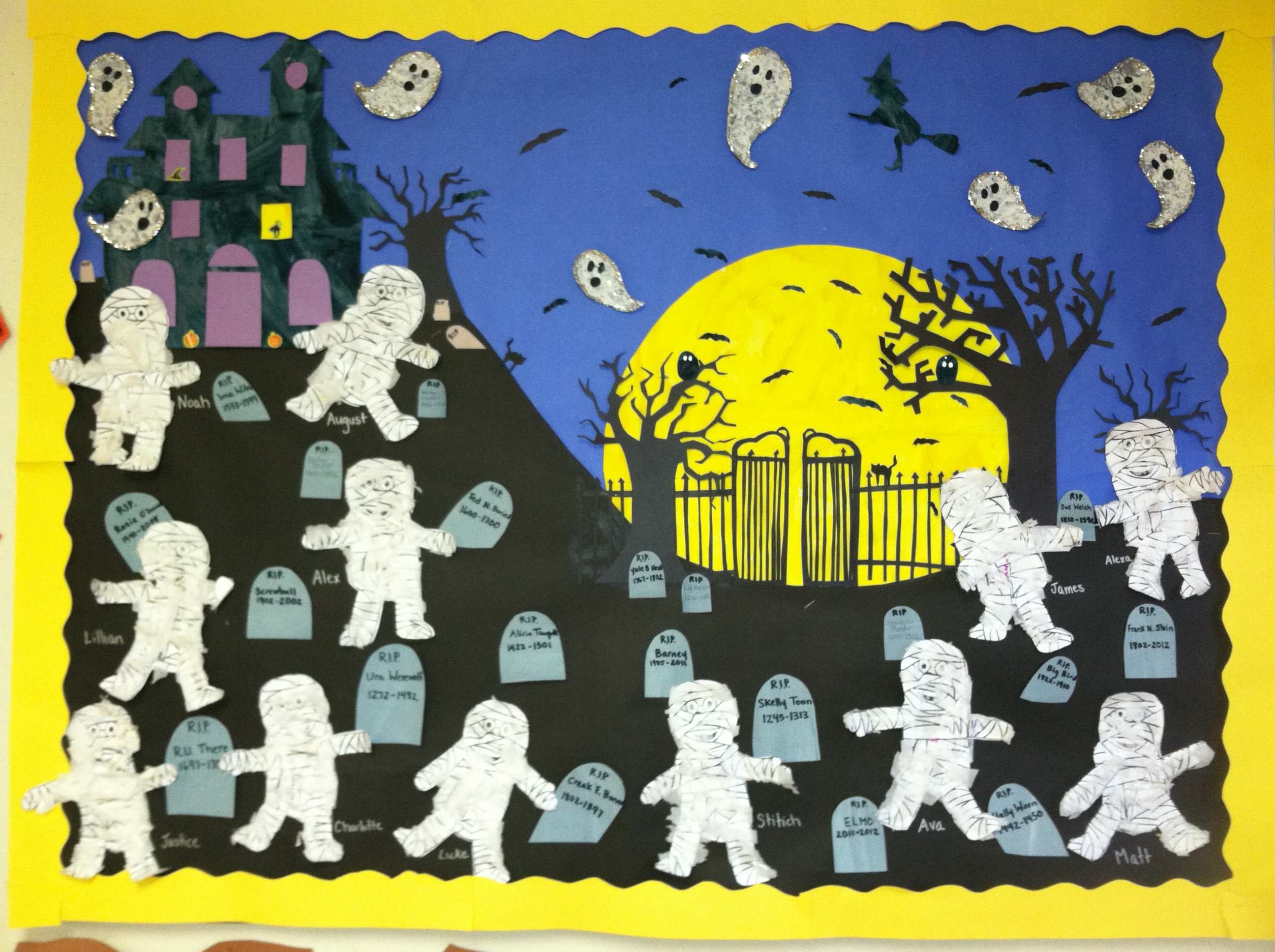 Ghost Halloween Preschool Worksheet
