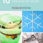 10 Winter Stem Activities For Kids Preschool Activities Nook