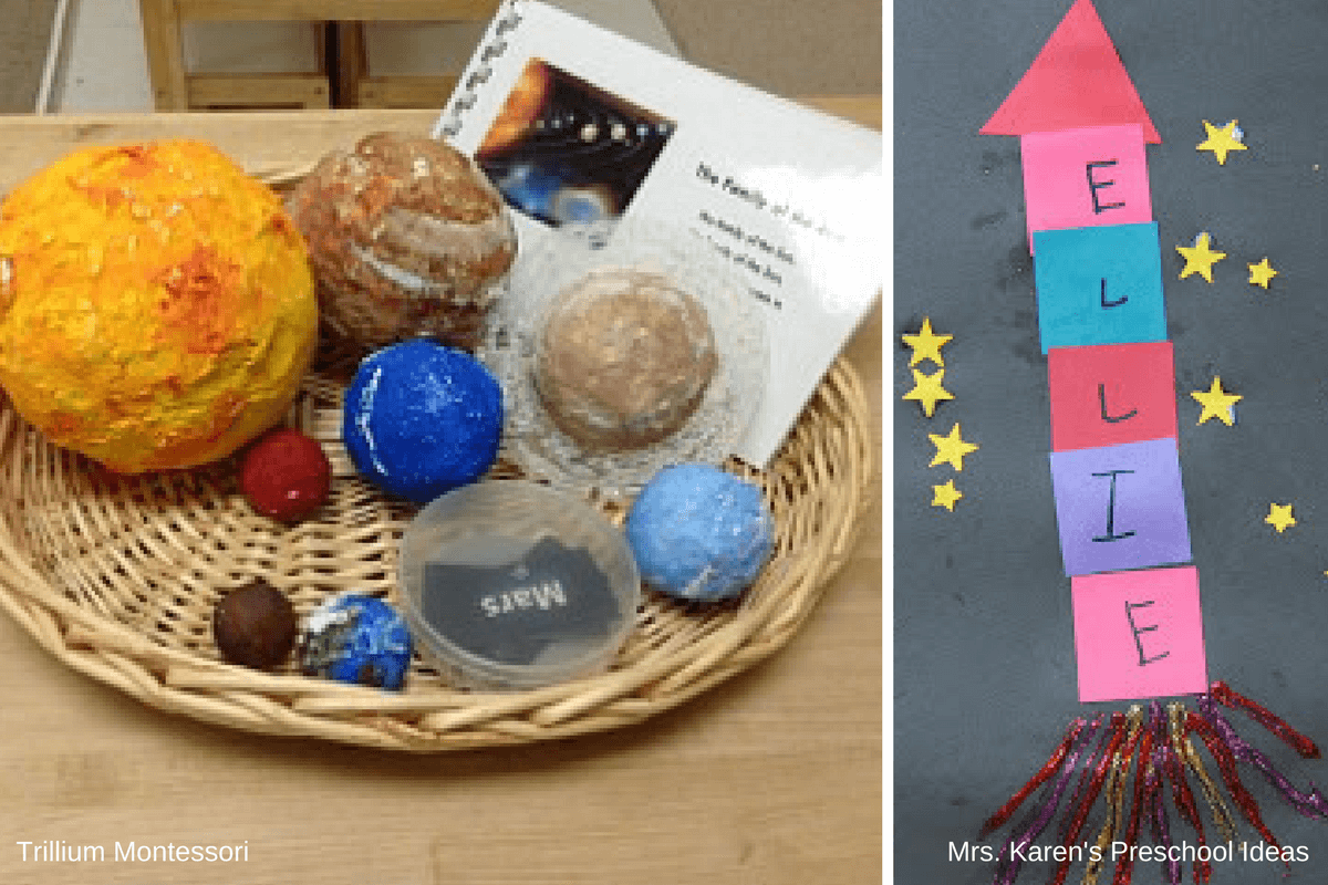 Preschool Activities For A Space Unit