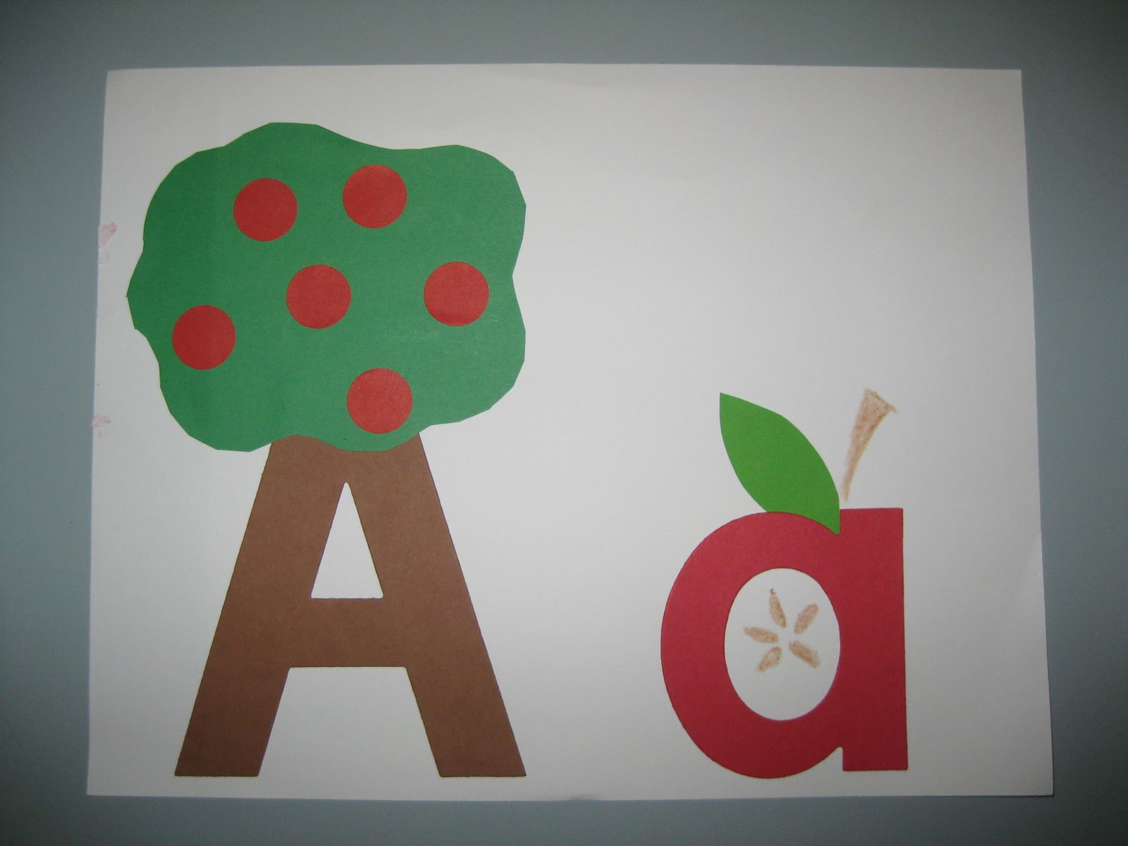 Letter A Crafts For Preschool