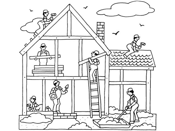 Labor Day Coloring Pages For Kids. labor day coloring pages ...