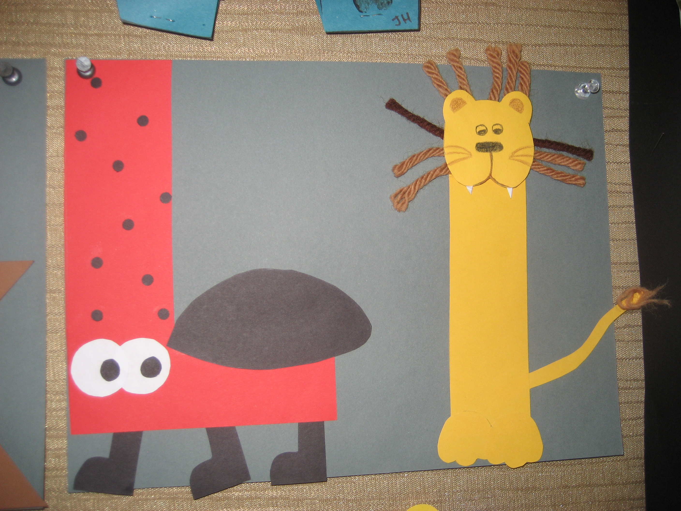 Letter Art Projects For Kids