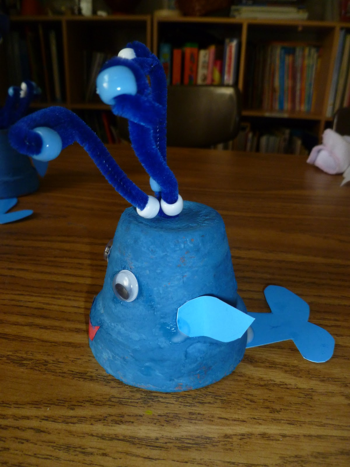 Dolphin Craft Idea For Preschool