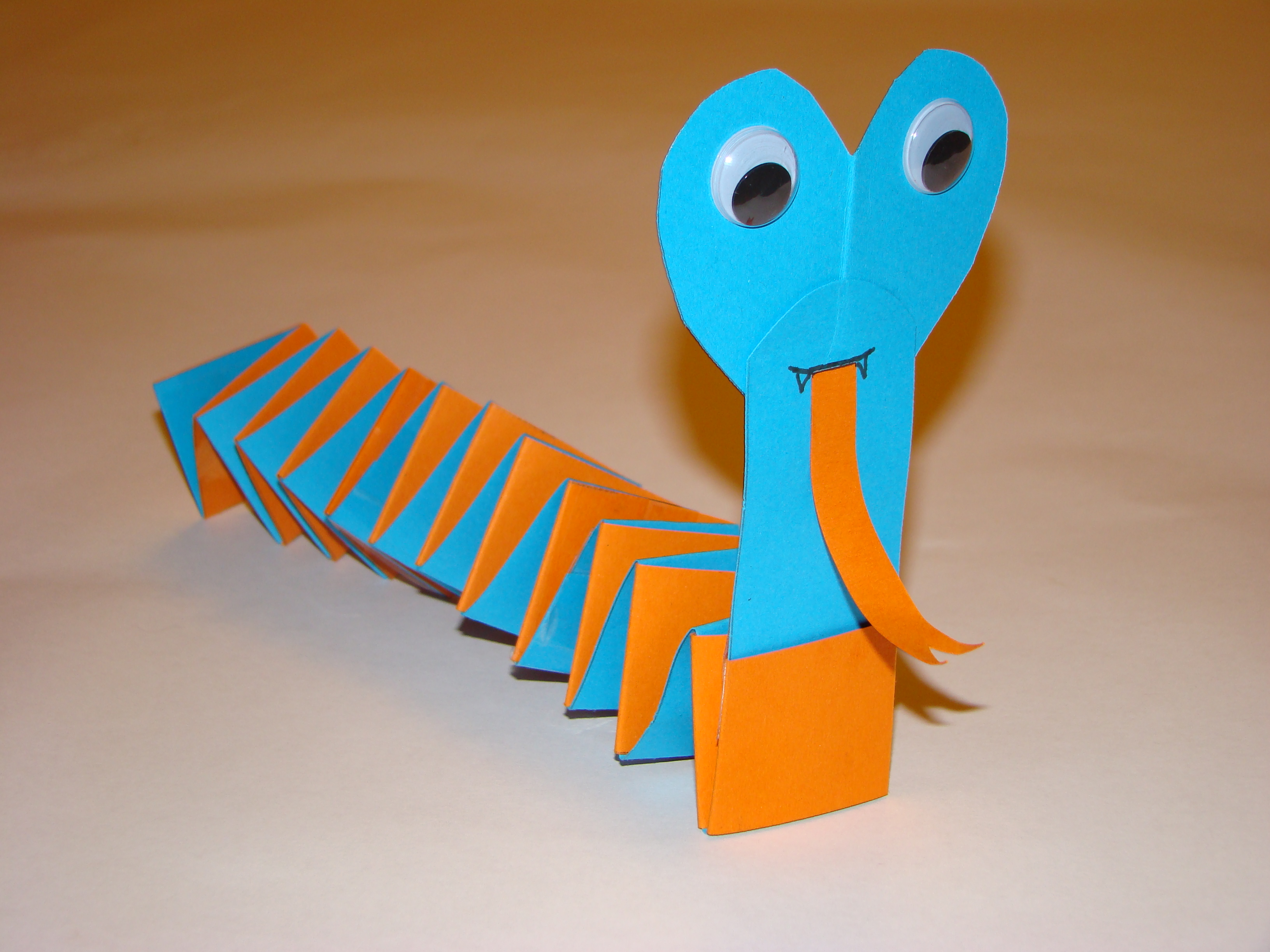Snake Craft Idea For Kids