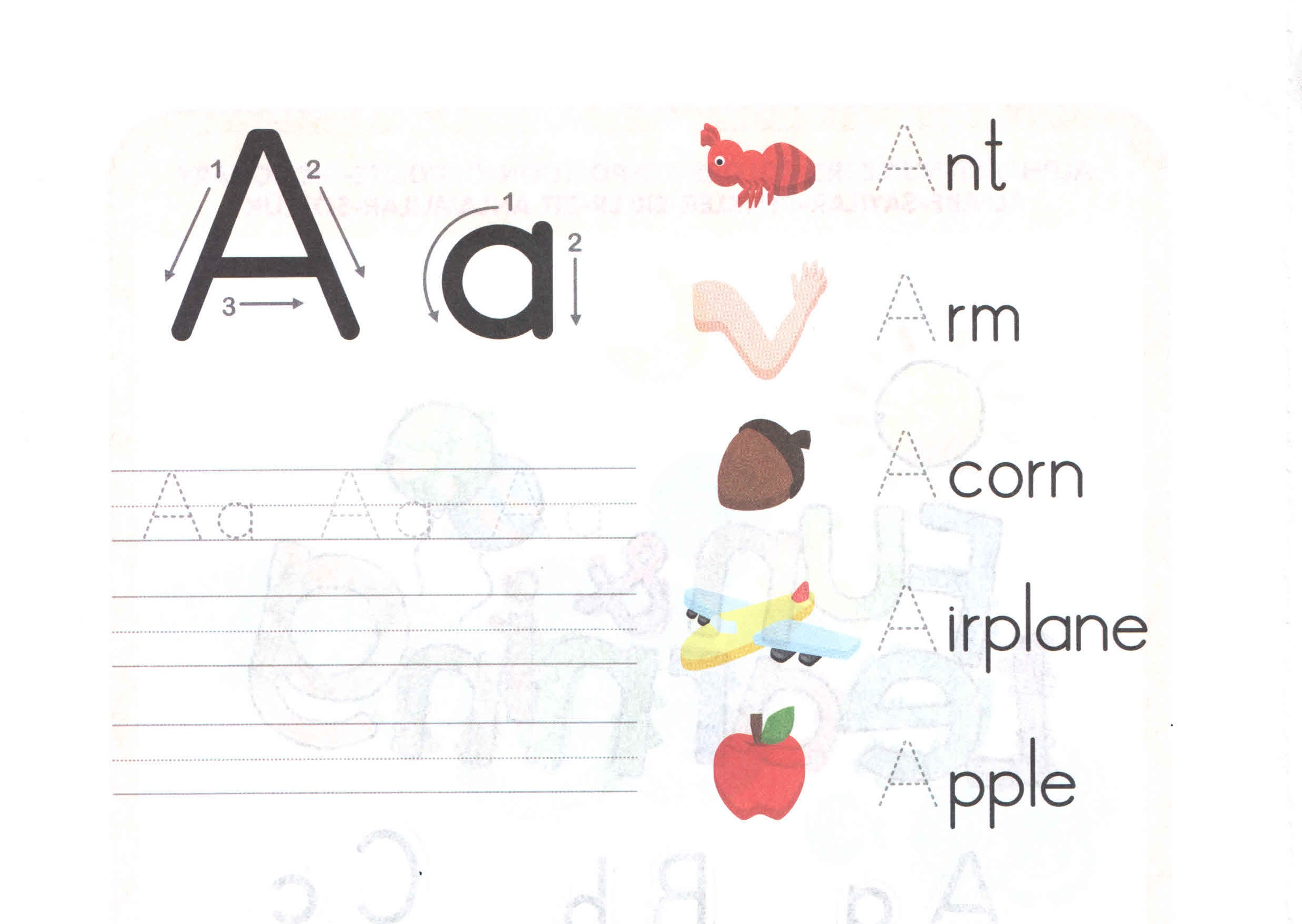 Small Alphabet Preschool Worksheets Small Best Free