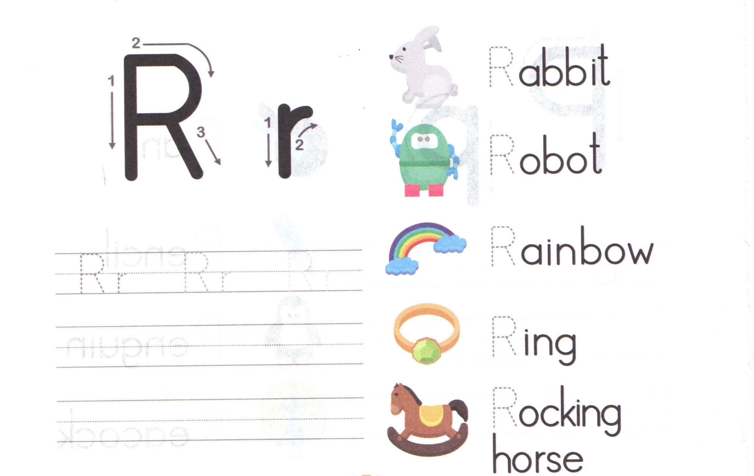 Capital Letter Worksheets For Preschool