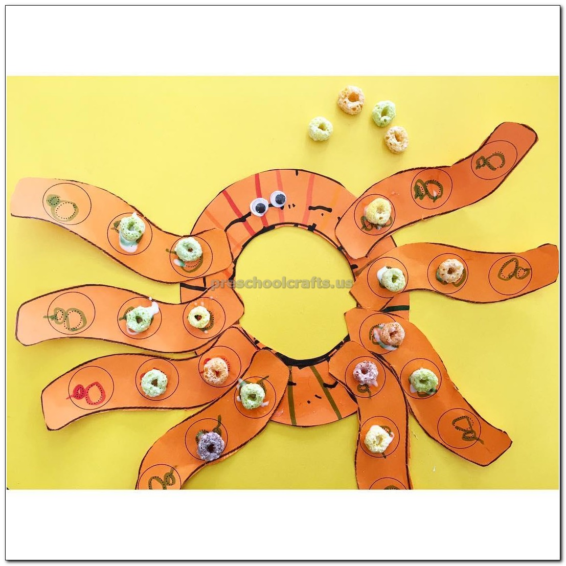 Octopus Crafts Ideas For Kindergarten