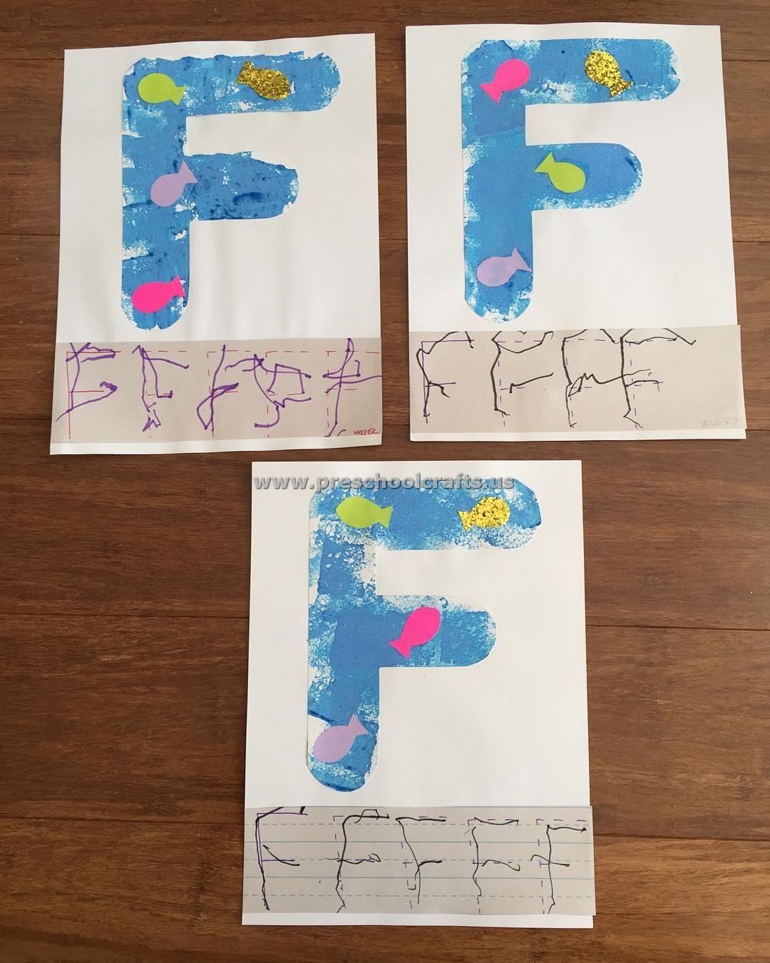 Letter F Crafts For Preschool Enjoy