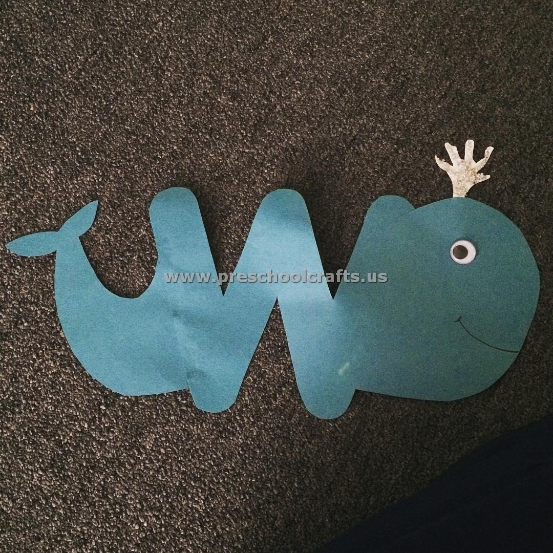 Letter W Crafts For Preschool Enjoyable