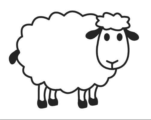 sheep coloring pages for preschool preschool crafts