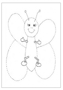 Free Printable Trace Line Worksheet For Kids Preschool