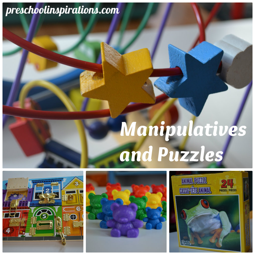 Manipulative Activity For Preschoolers