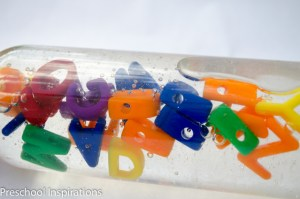 Alphabet Discovery Bottle by Preschool Inspirations-7