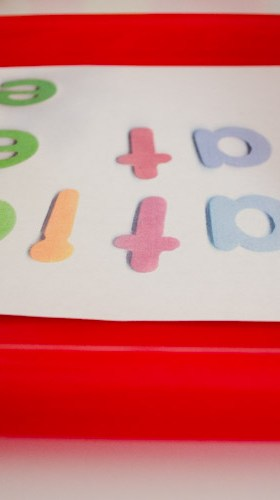 DIY Name Recognition Puzzle