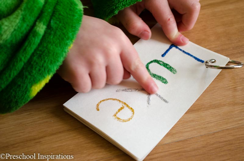 Tactile Name Writing Activity-7