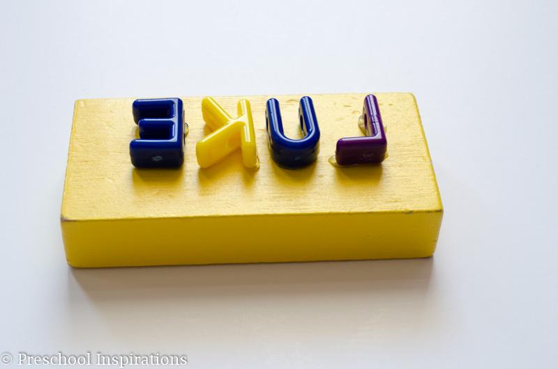 DIY Name Stamp - Preschool Inspirations