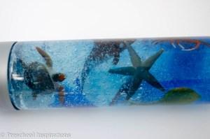 Ocean Creature Discovery Bottle - Preschool Inspirations-5