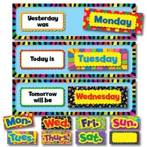 picture about Printable Days of the Week Chart named Preschool Calendar Printables - Preschool Mother