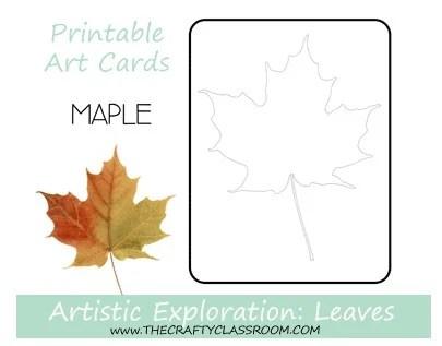 picture about Leaf Shapes Printable called Slide Leaf Preschool Printables - Preschool Mother