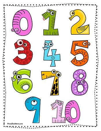 Number Preschool Printables Preschool Mom